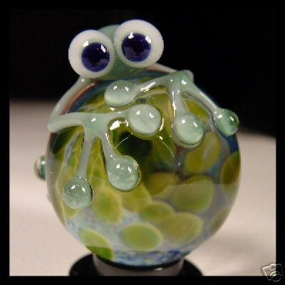 Chris & Jackie Rice 3D frog marble