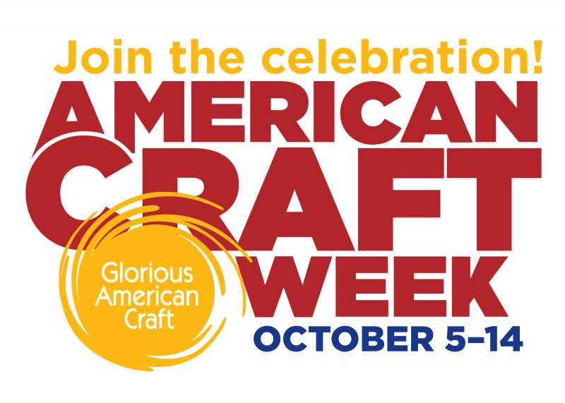 Celebrate American Craft Week