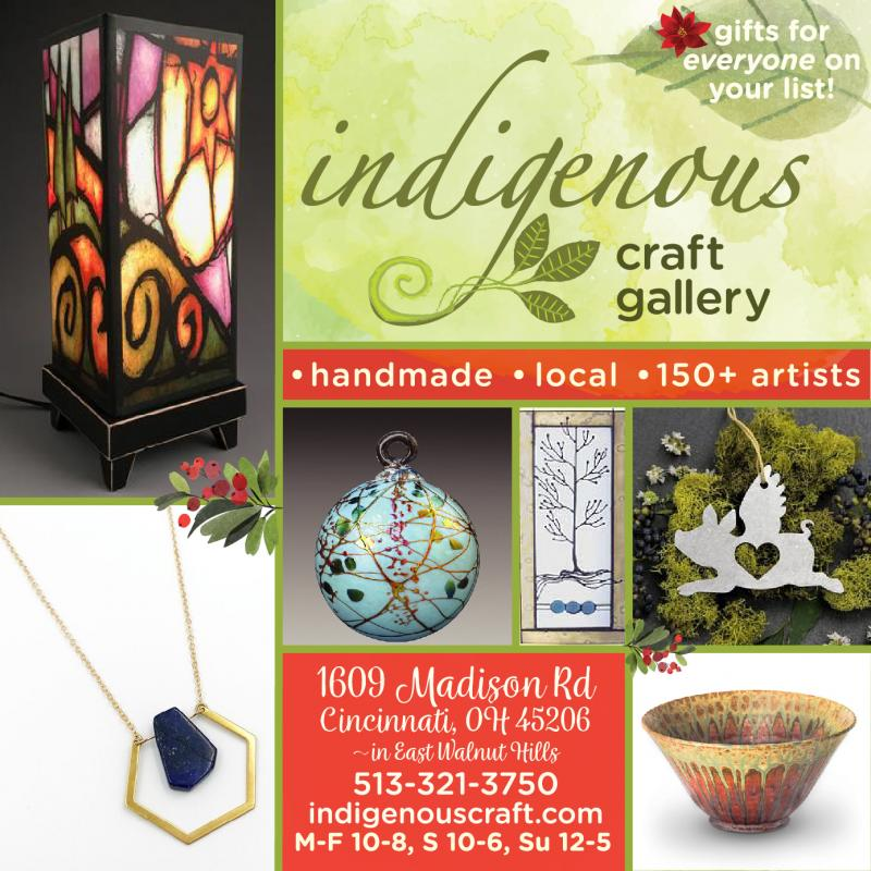 Give the gift of handmade at indigenous_