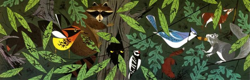 Charley Harper - Forest Friends
