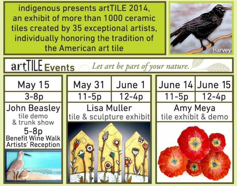 artful events for artTILE 2014