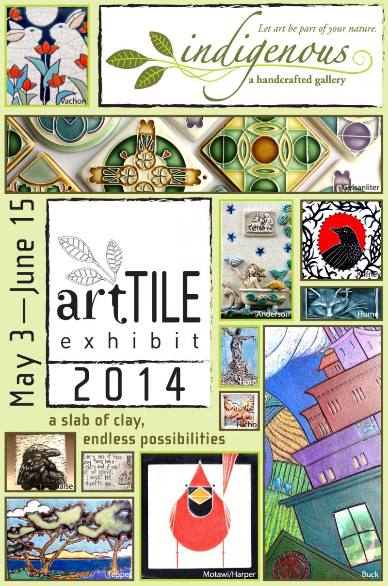 artTILE 2014!  May 3-June 15