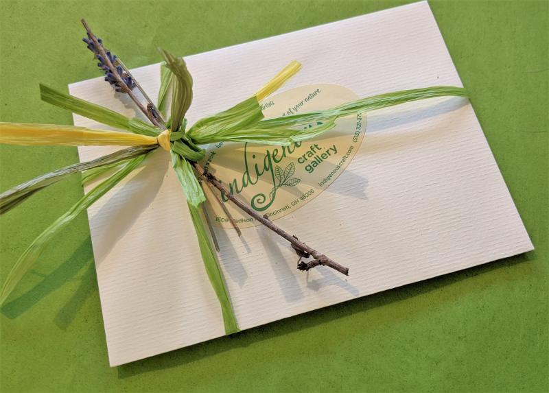 indigenous gift certificate special