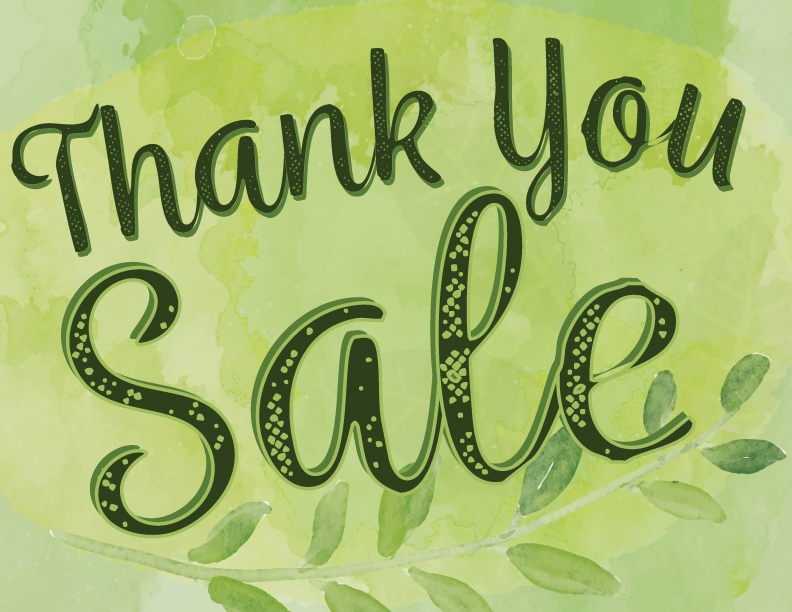 Get in on our not-so-secret THANK YOU Sale - find out the secret code!